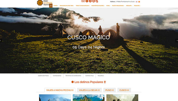 Peru Majestic Travel