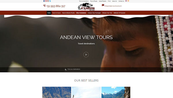 andean view travel