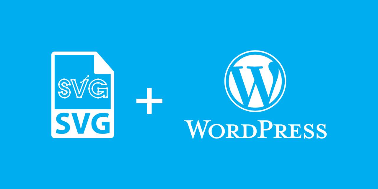 habilitar imagenes svg en wordpress
